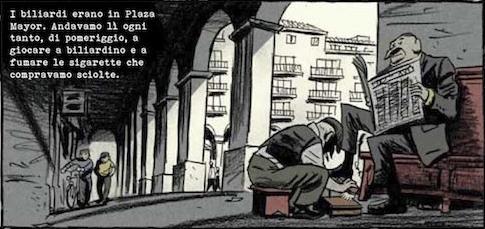 """Una vignetta da """"Storie del barrio"""""""