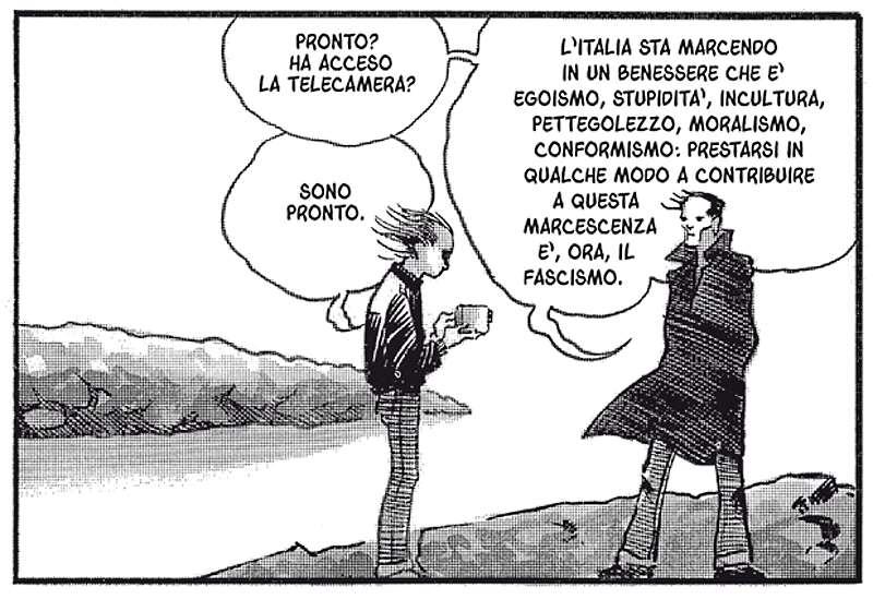 Il fumetto e il poeta: Davide Toffolo intervista Pasolini_Recensioni