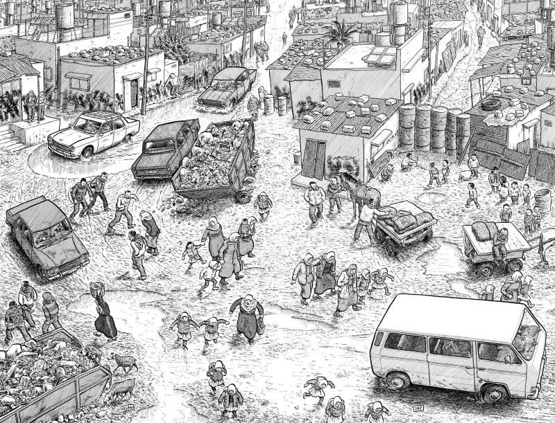 Palestina di Joe Sacco: uno storyteller in Palestina