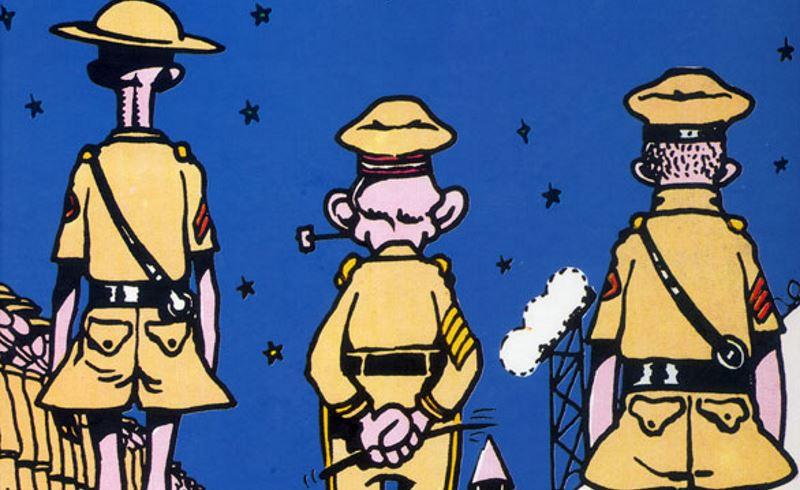 Mai come ora: i fumetti e la guerra