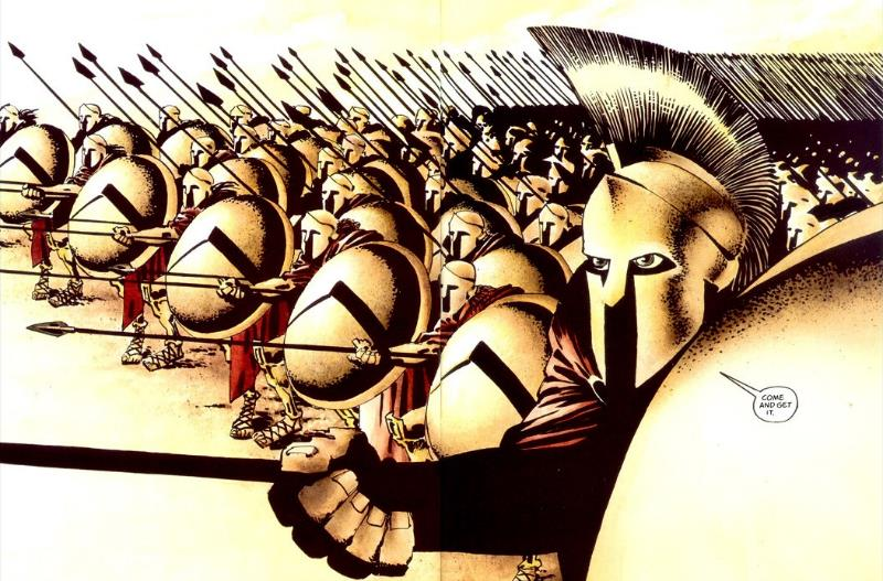 I 300 spartani di Frank Miller: il fascino della Storia