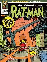 Cover di Rat-Man, ispirata al grande Kirby
