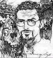 Dario Gulli secondo la matita di Max Crivello