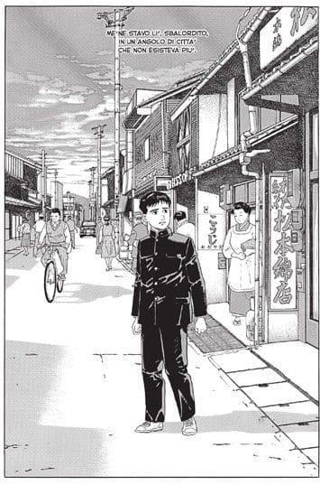 I Quartieri lontani nel passato di Jiro Taniguchi