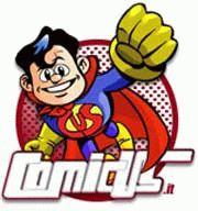 Super Marco Rizzo, logo di ComicUs