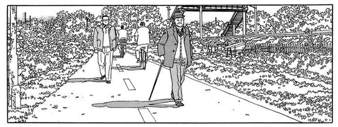 Jiro Taniguchi: il cammino dell'uomo che cammina_Recensioni