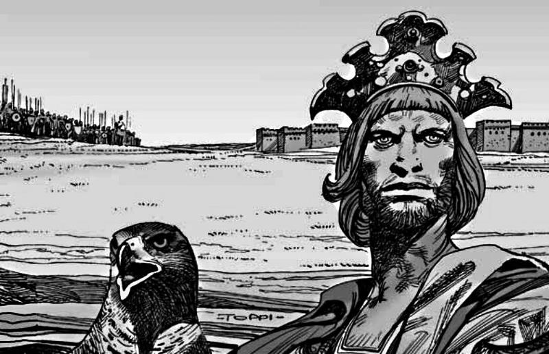 Federico II di Svevia, una biografia a fumetti di Sergio Toppi e Roberto Genovesi