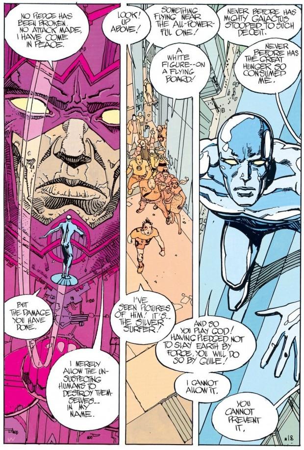 Silver Surfer: Parabola, Stan Lee incontra Moebius