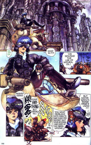 Ghost in the Shell: il cyberpunk di Shirow