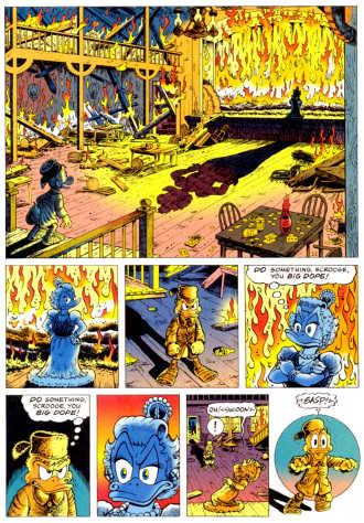 La versione di Don Rosa: La Saga di Paperon de' Paperoni