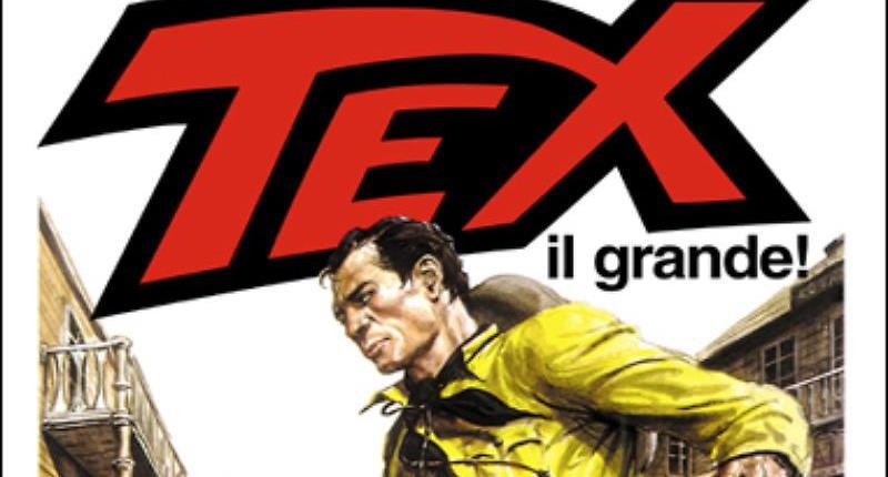 Tex il grande! Guido Buzzelli incontra il ranger Bonelliano