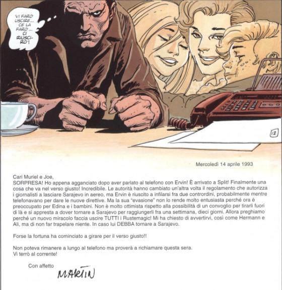Fax da Sarajevo di Joe Kubert, una testimonianza della guerra in Bosnia_Recensioni