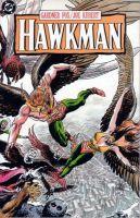 Una cover di un tpb di Hawkman
