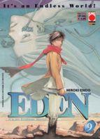 Copertina del numero 9 di Eden