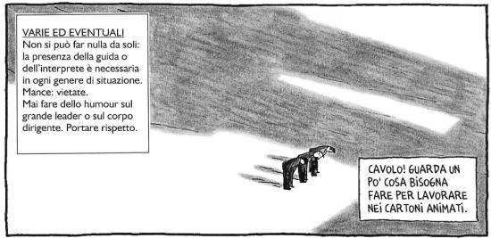 Pyongyang: Guy Delisle in Corea del Nord (con George Orwell) - p2