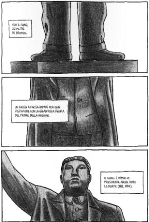 Pyongyang: Guy Delisle in Corea del Nord (con George Orwell) - p3