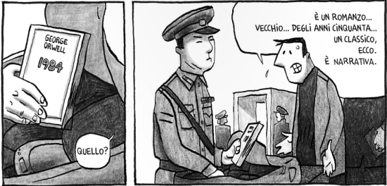 Pyongyang: Guy Delisle in Corea del Nord (con George Orwell) - p4