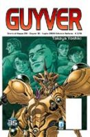 Copertina di Guyver #35