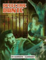 Copertina di Detective Dante #14