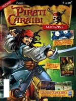 Copertina di Pirati dei Caraibi Magazine #1