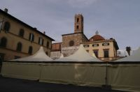 Una immagine dei padiglioni a San Martino
