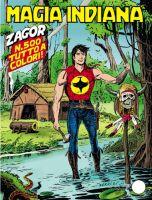 Copertina di Zagor #500
