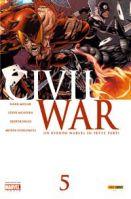 Copertina di Civil War #5