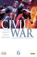Copertina di Civil War #6