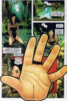 Una tavola dalla miniserie di Zatanna