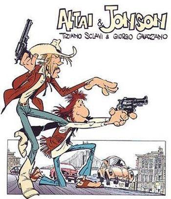 Altai & Jonson, il poliziottesco di Sclavi e Cavazzano