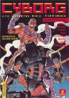 Il primo numero di Cyborg, ed. Star Comics