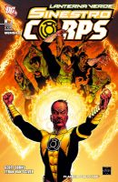 Copertina di Sinestro Corps #1