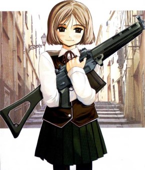 Gunslinger Girl: sguardi a mandorla sull'Italia