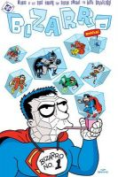 Copertina di Bizarro Comics