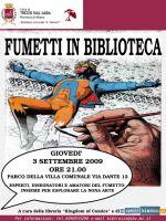 """Lo Spazio Bianco presenta: """"Fumetti in biblioteca"""""""