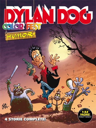 Dylan Dog Color Fest #4: Humor