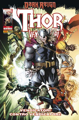 Thor e i nuovi Vendicatori #135