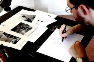 Gianluca Costantini dietro le sbarre: intervista sull'improvvisazione dal vivo a fumetti