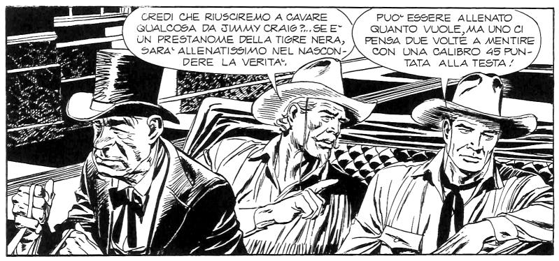 TEX 600 - Andrea Venturi, Tex e Alex Zanardi