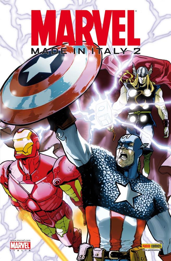 Marvel Made in Italy #2: il work in progress della copertina