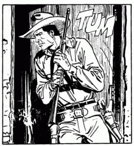 """"""" Tex si muove con misurata lentezza, ma è pronto a scatti immediati da leone"""""""