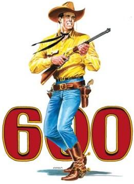 TEX 600 - Seicento volte Tex