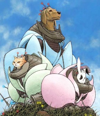WE3 di Morrison e Quitely, la Disney che mostra le zanne