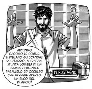 Con Nico Blunda: di Rostagno e di tutto un po'