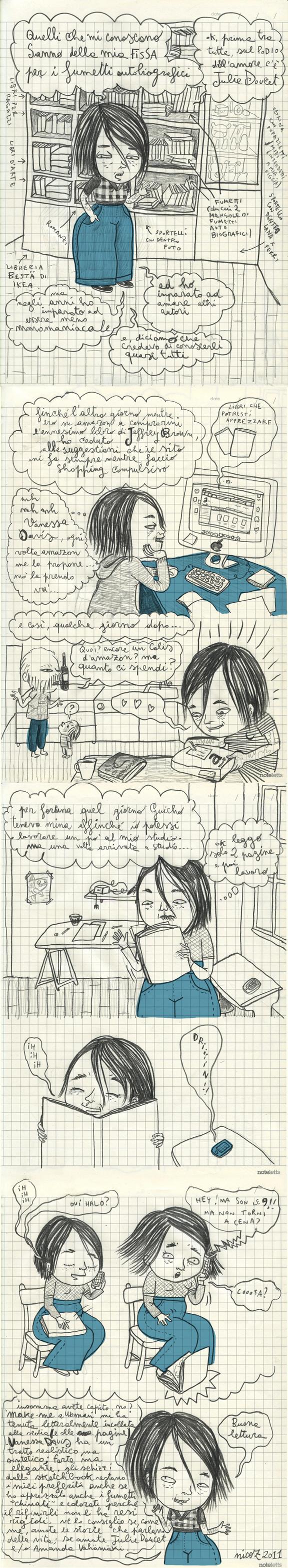 nicoz-vanessa_davisMIX_Recensioni A fumetti