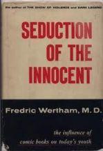 Copertina del libro di Wertham.