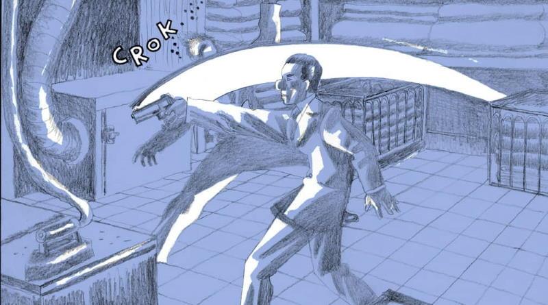 Igort e Carlotto: un incontro nel segno dell'alligatore
