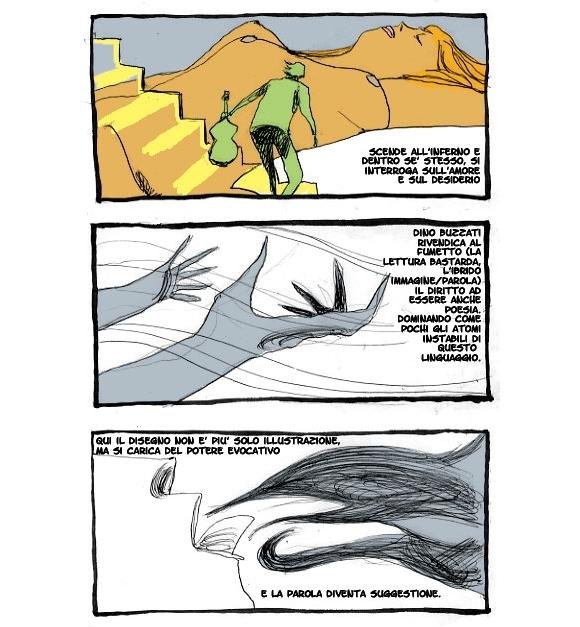 Fabio Visintin e Dino Buzzati: Un poema a fumetti