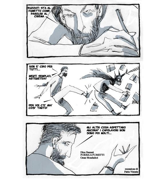 Buzz04_Recensioni A fumetti