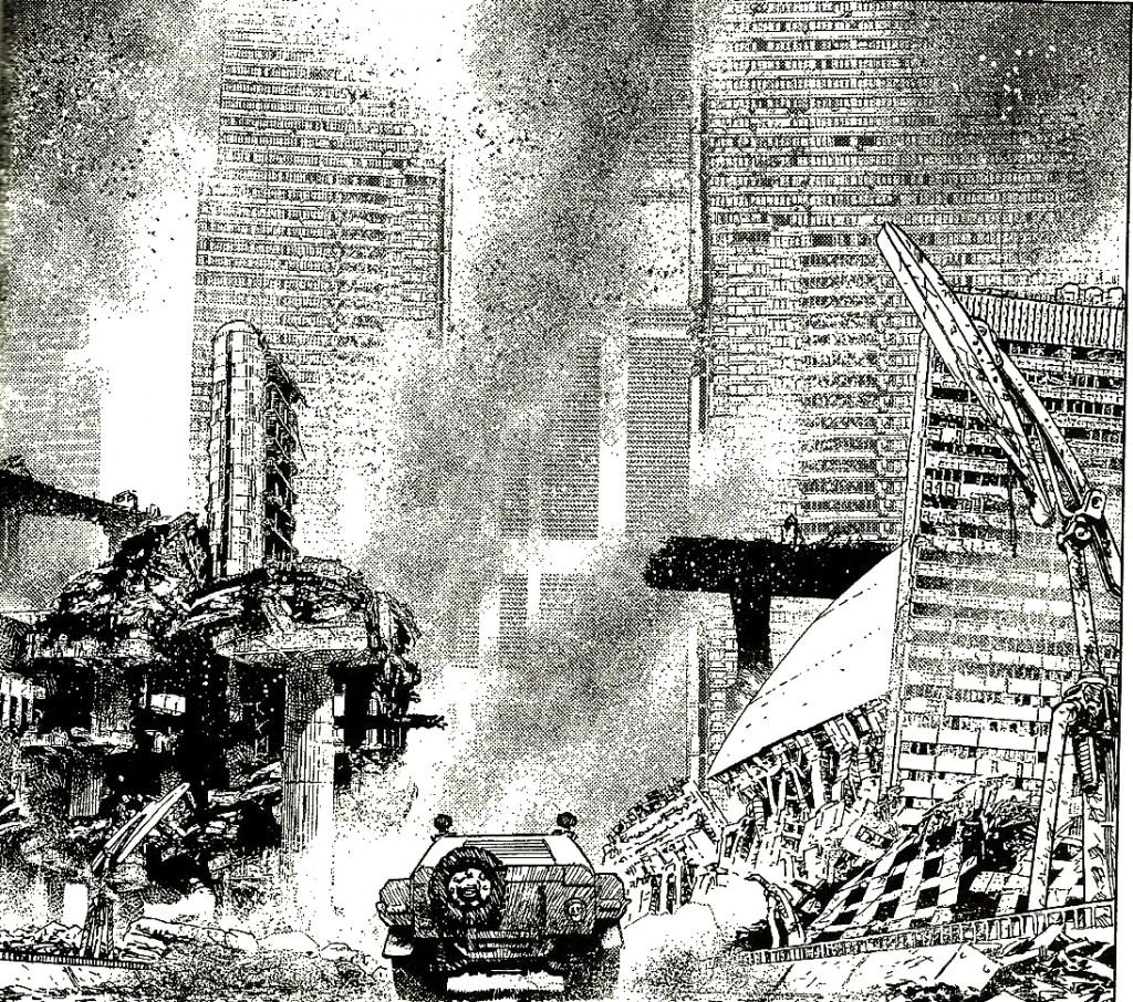 E che guerra sia: Nathan Never #244 – Distruzione!